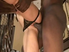 Holly Wellin, blondiner, anal, sex mellem racer
