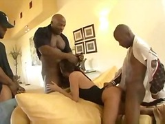 double pénétration, anal, interracial
