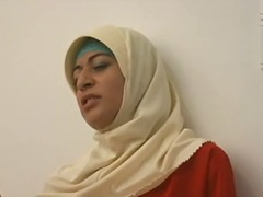 Arab muslim hijab turbanli  dame 1 - nv