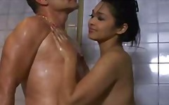 Voluptuous thai soapy rubdown