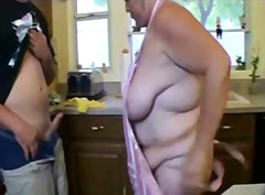 Redneck drills old & thick mom