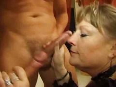Super warm older french damsel get nailed by two boys