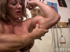 Naughty kat - wild in the gym