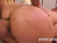 Ashli orion deep throats manmeat gets ass fucking reamed and double nailed