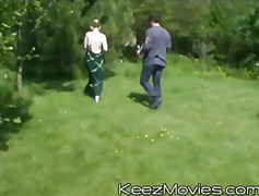 gangbang, public, teenager, blowjob, teen, blonde, outdoors, hardcore, keezmovies, group