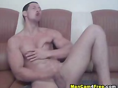 Sensational blowage with beefy cutie