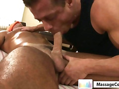 Massagecocks muscule latino caress rubdown