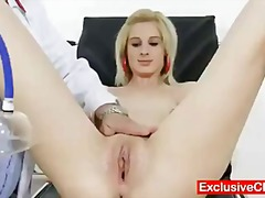 Slender blonde mia hilton insatiable honeypot medical exam