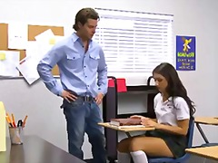 shaved, young, teenager, classroom, teen, big-cock, brunette, schoolgirl, hardcore, tall, uniform