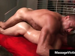 Warm and wild boy gets the rubdown