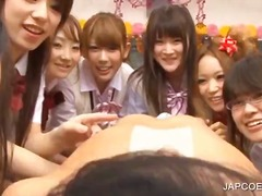 cumshot, hardcore, schoolgirl, blowjob, japanese, asian, uniform, handjob, group sex, fetish