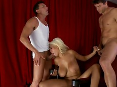 blondes, stars du x, anal, hardcore, chérie, groupe, pipes, gros seins