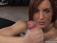 Ideal hand job pov made by riley timid
