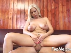 Fat boob stunner is addicted to the large knob