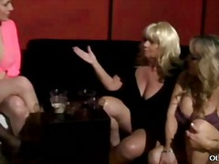 Meaty boobed older female orgy