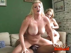 blowjob, pornostar, babe, interracial, blond, großer schwanz, hardcore, dreier
