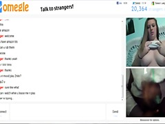 Omegle 92 (chicks witnesses me while groping and on phone)