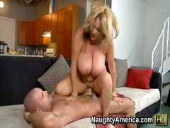 bj, hand job, anaal, blond, hakke, ma