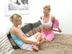 """never been with a lady?"" asks lexi. ""you're missing out!"" taylor says there weren't any adorable honeys ba..."
