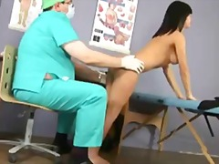 Fantastic brunette stunner passes exclusive gyno exam