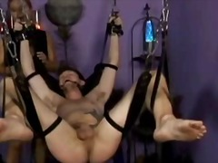 Dominatrix nicollete's bdsm ball torment