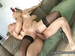 hard, bj, nylon, blond