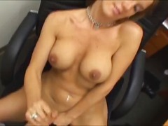groot anties, titjob, amateur, milf, blond, vinger, hand job, oraal