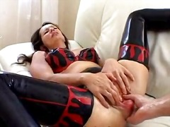 Latex fuckslut assfuck fisted
