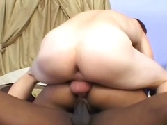 guy, sucking, beautiful, lucky, black, first-time, girl-on-girl, face-fucking