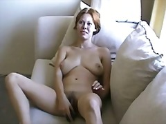 Wife cassie penetrating fur covered cunt with hookup fucktoys