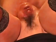 Extraordinary injection - a head inwards my vulva