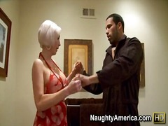Warm tramp kasey grant seduces the plumber