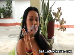Selection of incredible videos from latin smokers in latina porn niche