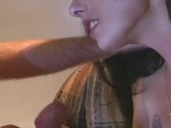 Insatiable girl rubbing a impaler so rigid