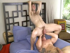 Lake and caleb large give every other oral jobs, caleb gives cody the rim job, and cody has taste of caleb'...