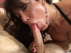 facial, mamada, transsexual, anal