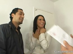 Sophia bella makes her spouse gasp on a meaty pecker with her