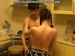 Xxx trio-some penetrate after the exams