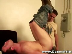 Naughty teacher doesnt let up smacking student