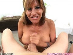 Mommy on her knees for pov