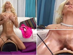 Exceptionally spectacular blondevictoria rush from the