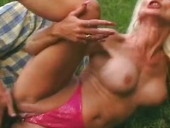mature, blonde, outdoors, hardcore, piercing