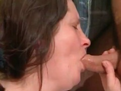 Insatiable stunning fat boobed stunners gets throated part1