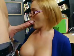 Four-witnessed blonde krissy lynn with giant