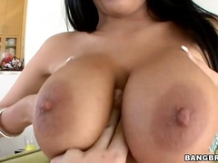 Titillating dark haired honey anissa kate