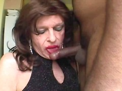 sucking, mature, interracia, facial