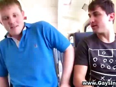 Horny fledgling public gays gargle on jizz-shotgun