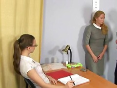 Xxx job interview for blonde secretary