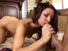 couple, latin, rimming, oral, vaginal, cum, brunette, shot, blowjob