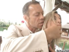 Rocco siffredi is getting willing for